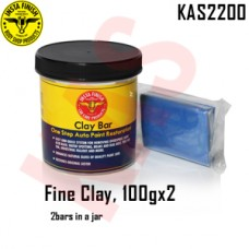 Instafinish FineClay Bar, Color Blue, 10...
