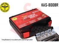 Instafinish Hot Stapler Deluxe Kit - Plastic ...