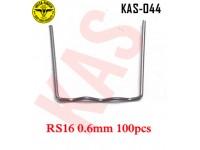 Instafinish Hot Stapler Flat STAPLES, RS16, ....