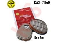Instafinish Organic Vapor Cartridge, 2 packag...