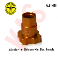 Instafinish Adaptor for Elsinore mini guns, Female Thread, Color Gold, KAS-MINI