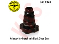 Instafinish Adaptor for Black Swan guns, Male...