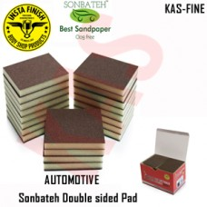 Sonbateh Softback Sanding Sponge/ Fine, grits 320-400 & 500, Color Black, KAS-FINE