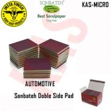 Sonbateh Softback Sanding Sponge/ Fine, grits 1000-1200 & 1500, Color Black, KAS-MICRO