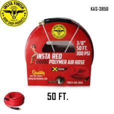 "Instafinish Red 3/8"" x 50FT Hybrid Polym..."