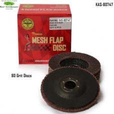 Sonbateh Flap Discs, 80 Grit, 5 Discs pe...