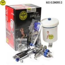 Instafinish full-size HVLP spray gun, 1....