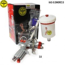 Instafinish full-size HVLP spray gun, 2....