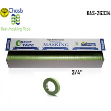 Chasb Performance Green Masking Tape, 3/...