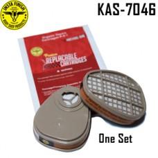 Instafinish Organic Vapor Cartridge, 2 p...
