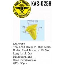 Insta Finish Yellow Clip for Hyundai, To...