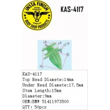 Insta Finish Green Clip for BMW, Top Hea...
