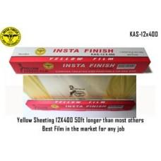 Instafinish yellow Corona treated Plasti...